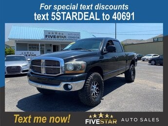 2008 Dodge Ram 1500 SLT RWD 4 Door Truck 4.7l V8 MPI 4.7l Engine Automatic