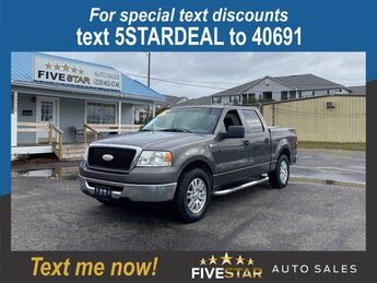 2007 Ford F-150 XLT 5.4l V8 EFI Sohc 5.4l Engine 4 Door RWD Automatic