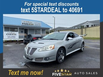 2008 Liquid Silver Metallic Pontiac G6 GXP FWD 3.6l V6 SFI 3.6l Engine Car Automatic