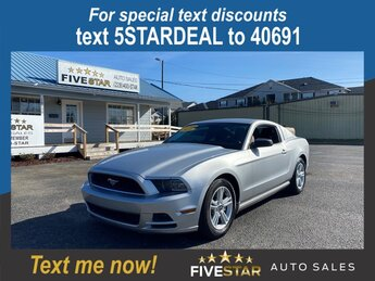 2014 Ford Mustang Base RWD Car 3.7l V6 Smpi Dohc 3.7l Engine Manual