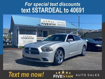 2012 Bright Silver Metallic Dodge Charger RT Plus 4 Door 5.7l V8 SFI Hemi MLT-Disp Engine RWD