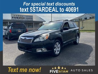 2010 Subaru Outback Ltd Pwr Moon 4 Door 2.5l H-4 MPI Sohc 2.5l Engine AWD Crossover Automatic