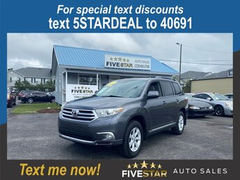 2013 Toyota Highlander Base Automatic 3.5l V6 SFI Dohc 3.5l Engine SUV FWD