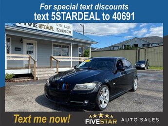 2011 BMW 3-Series 335i Car 3.0l I-6 DI Dohc T/C 3.0l Engine RWD 4 Door Automatic