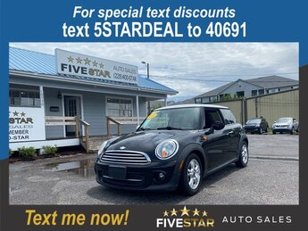 2011 Midnight Black Metallic MINI Cooper Base 1.6l I-4 EFI OHC 1.6l Engine FWD Hatchback Automatic 2 Door
