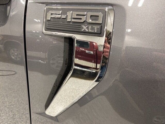 2021 Carbonized Gray Metallic Ford F-150 XLT Chrome 4 Door Truck 2.7L V6 EcoBoost Engine 4X4