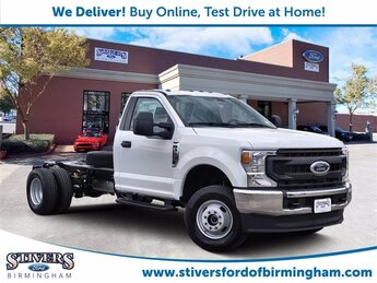 2021 Oxford White Ford Super Duty F-350 DRW XL Automatic 7.3L V8 PFI SOHC 16V Federal 385hp Engine 2 Door 4X4 Truck