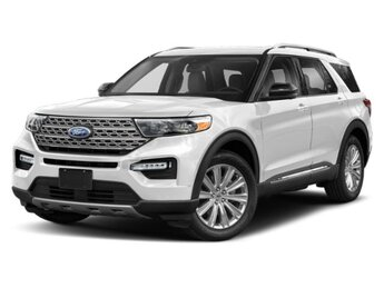 2021 Ford Explorer Platinum SUV V6 Engine 4X4 4 Door Automatic