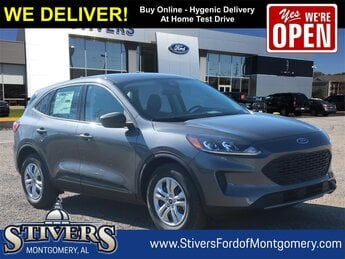 2021 Carbonized Gray Metallic Ford Escape S SUV 1.5L EcoBoost Engine Automatic FWD 4 Door