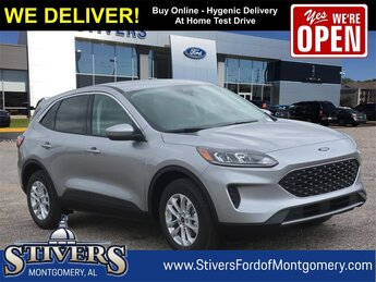 2021 Iconic Silver Metallic Ford Escape SE FWD 4 Door 1.5L EcoBoost Engine