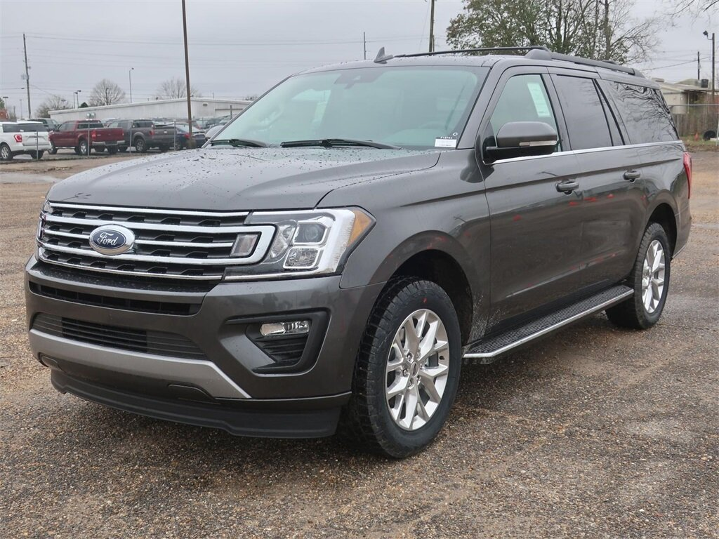 2021 Magnetic Metallic Ford Expedition Max XLT EcoBoost 3.5L V6 GTDi DOHC 24V Twin Turbocharged Engine 4 Door Automatic RWD