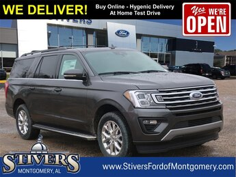 2021 Magnetic Metallic Ford Expedition Max XLT EcoBoost 3.5L V6 GTDi DOHC 24V Twin Turbocharged Engine SUV 4 Door Automatic