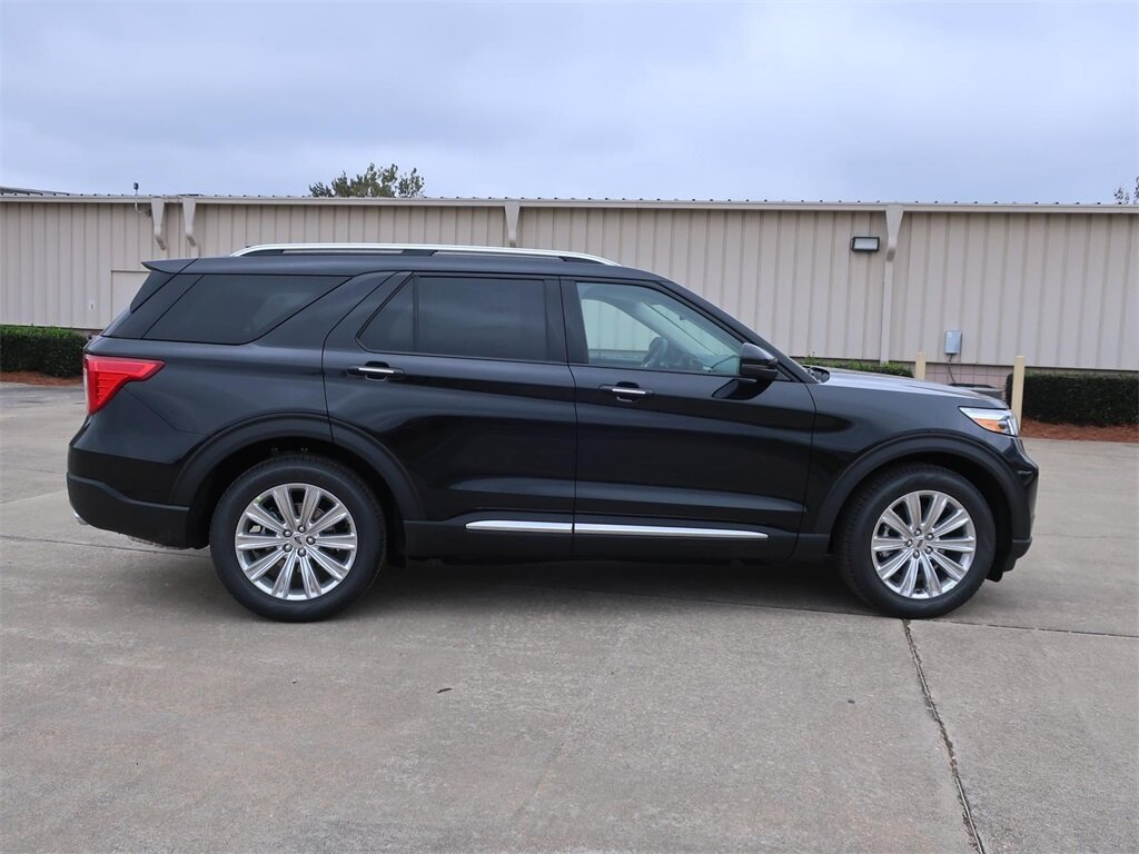 2021 Ford Explorer Limited Automatic RWD EcoBoost 2.3L I4 GTDi DOHC Turbocharged VCT Engine SUV