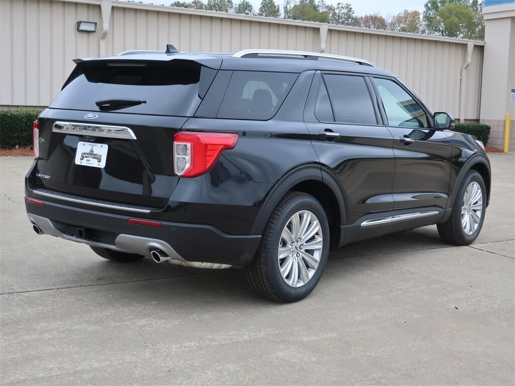 2021 Ford Explorer Limited 4 Door EcoBoost 2.3L I4 GTDi DOHC Turbocharged VCT Engine SUV Automatic RWD