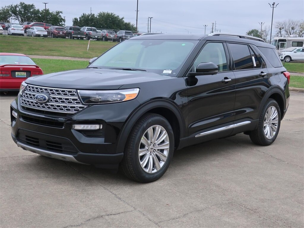2021 Ford Explorer Limited RWD SUV 4 Door EcoBoost 2.3L I4 GTDi DOHC Turbocharged VCT Engine