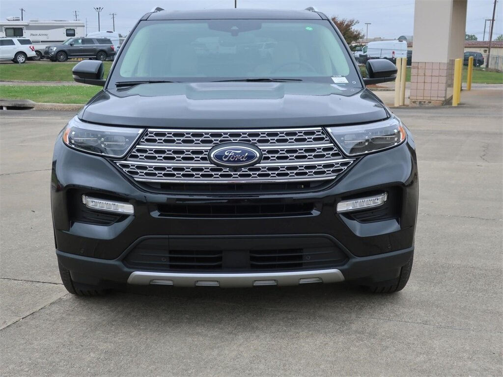 2021 Agate Black Metallic Ford Explorer Limited Automatic SUV RWD EcoBoost 2.3L I4 GTDi DOHC Turbocharged VCT Engine