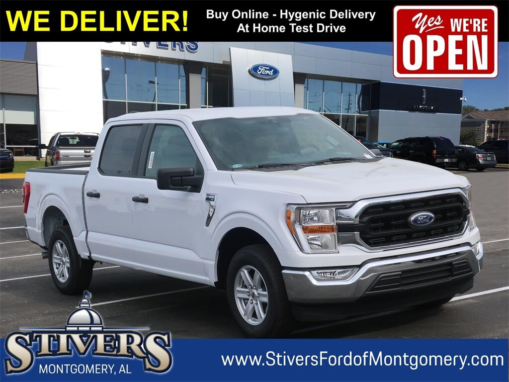 2021 Oxford White Ford F-150 XLT 5.0L V8 Engine 4 Door Truck Automatic