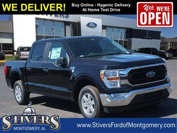 2021 Black Ford F-150 XLT Truck 4 Door RWD