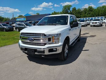 2019 Oxford White Ford F150 4WD XLT Automatic V8 Flex Fuel 5.0 Liter Engine 4 Door 4X4