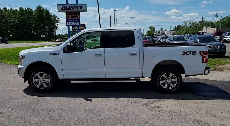 2019 Ford F-150 XLT 4X4 Automatic V8 Flex Fuel 5.0 Liter Engine Truck