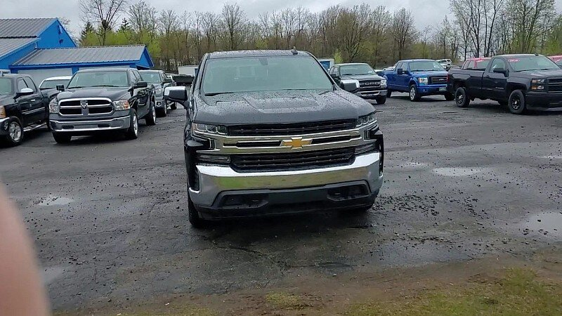 2019 Chevrolet Silverado 1500 4WD LT Automatic 4X4 4-Cyl Turbo 2.7 Liter Engine 4 Door