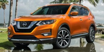 2018 RED Nissan ROUGE SV SUV FWD