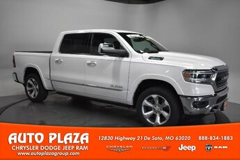 2019 Ivory White Tri-Coat Pearlcoat Ram 1500 Limited Engine 4X4 Automatic Truck