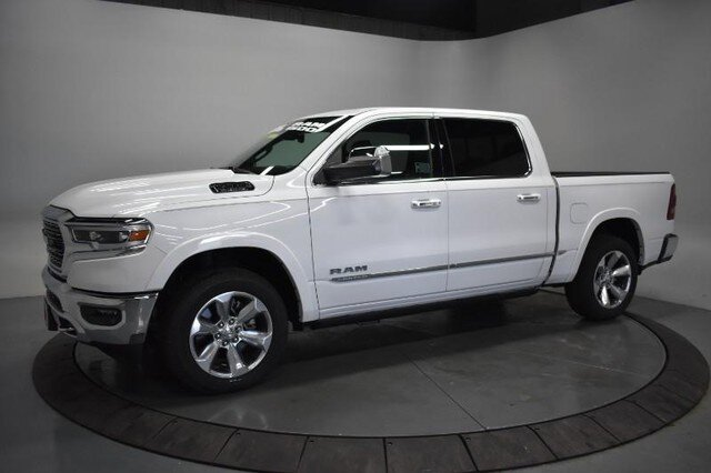 2019 Ivory White Tri-Coat Pearlcoat Ram 1500 Limited Engine 4 Door Automatic Truck