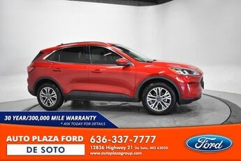 2020 Rapid Red Metallic Tinted Clearcoat Ford Escape SEL AWD 4 Door 2.0L Turbocharged Engine