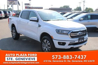 2019 White Platinum Tri-Coat Ford Ranger 4X4 4 Door Automatic 2.3L Turbocharged Engine Truck