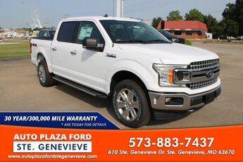 2020 Oxford White Ford F-150 4X4 3.5L V6 Turbocharged Engine Automatic Truck