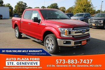 2020 Rapid Red Metallic Tinted Clearcoat Ford F-150 Truck 4 Door 4X4 3.5L V6 Turbocharged Engine