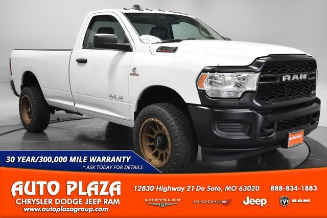 2019 Bright White Clearcoat Ram 2500 Tradesman 4X4 2 Door 6.7L Straight 6 Turbocharged Engine Automatic Truck