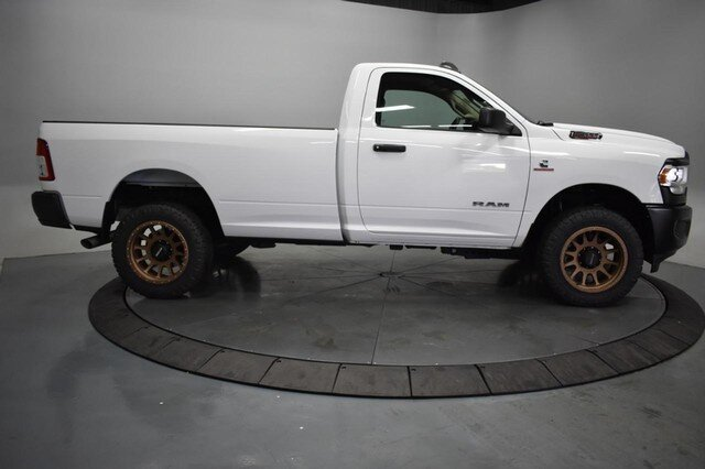 2019 Bright White Clearcoat Ram 2500 Tradesman Truck 4X4 6.7L Straight 6 Turbocharged Engine