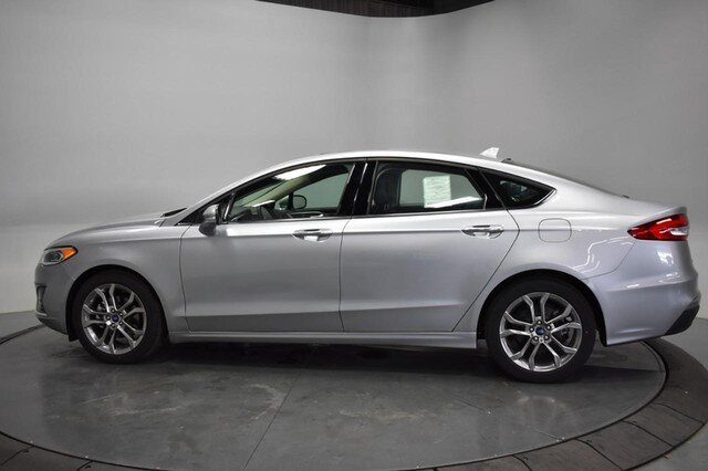 2020 Iconic Silver Metallic Ford Fusion SEL 4 Door Automatic 1.5L Turbocharged Engine Sedan