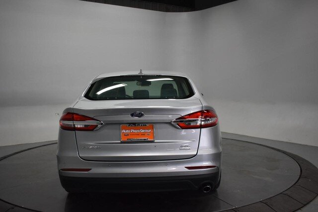 2020 Iconic Silver Metallic Ford Fusion SEL Automatic FWD 4 Door 1.5L Turbocharged Engine Sedan