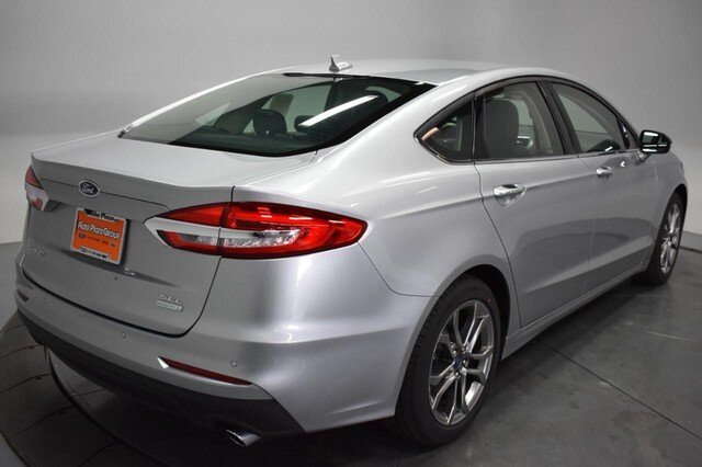 2020 Iconic Silver Metallic Ford Fusion SEL 4 Door FWD Automatic