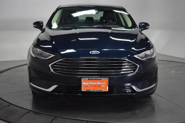 2020 Alto Blue Metallic Tinted Clearcoat Ford Fusion SEL FWD Sedan Automatic Engine 4 Door