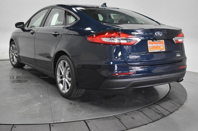 2020 Alto Blue Metallic Tinted Clearcoat Ford Fusion SEL 4 Door Engine FWD