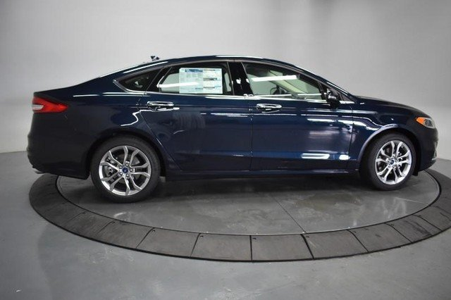 2020 Alto Blue Metallic Tinted Clearcoat Ford Fusion SEL FWD Automatic Sedan