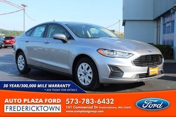 2020 Ford Fusion S Car 2.5L Engine 4 Door Automatic FWD