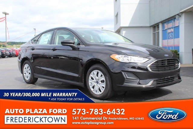 2020 Agate Black Metallic Ford Fusion S FWD Sedan Automatic 2.5L Engine 4 Door