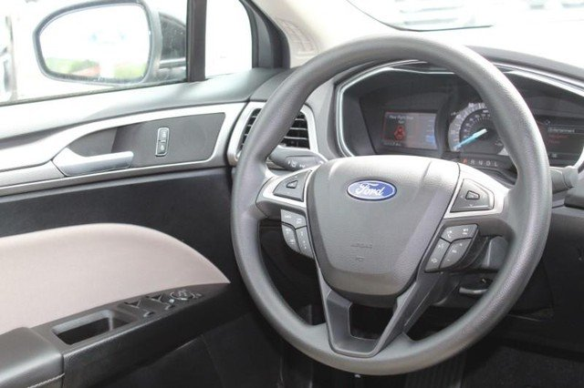 2020 Agate Black Metallic Ford Fusion S 2.5L Engine FWD Automatic Sedan