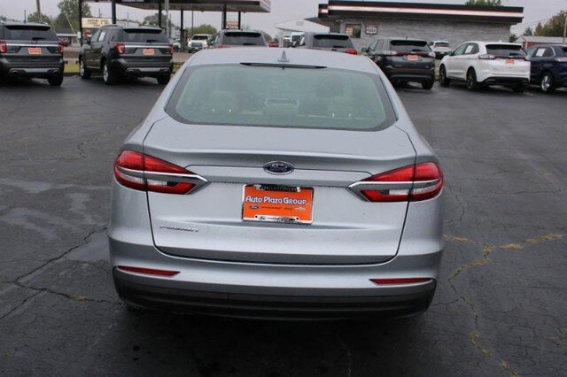 2020 Iconic Silver Metallic Ford Fusion S 2.5L Engine 4 Door Sedan Automatic