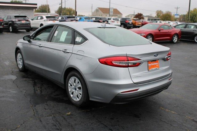 2020 Iconic Silver Metallic Ford Fusion S 4 Door Sedan Automatic