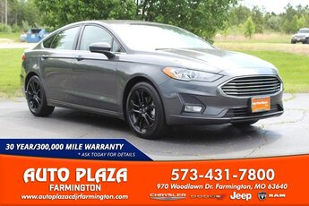 2020 Ford Fusion SE Car 4 Door FWD