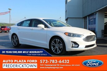 2020 Ford Fusion Titanium Sedan 2.0L Turbocharged Engine FWD Automatic 4 Door