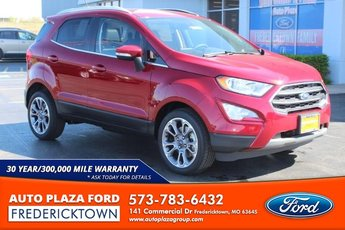 2020 Ford EcoSport Titanium FWD 1.0L Turbocharged Engine Automatic 4 Door