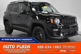 2020 Black Clearcoat Jeep Renegade Altitude 4X4 Automatic Engine