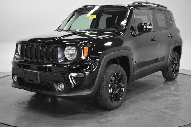 2020 Black Clearcoat Jeep Renegade Altitude Engine SUV Automatic 4X4 4 Door